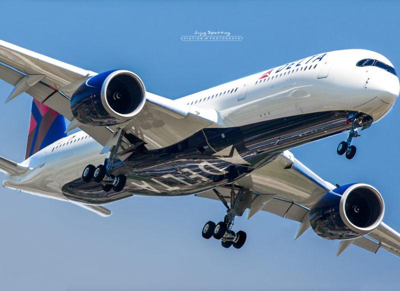 Delta Air Lines este primul operator din America de Nord care a recepționat modelul A350 de la Airbus