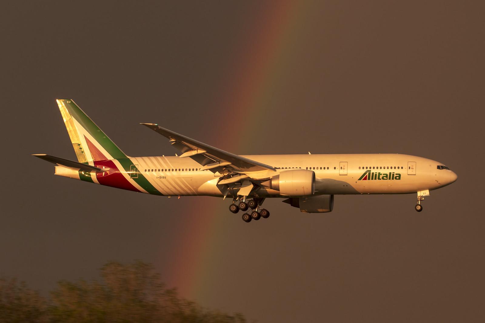 Boeing 777-200ER Alitalia / Foto: Giancarlo Scolari
