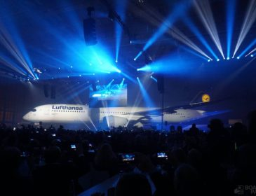 Primul Airbus A350 Lufthansa a fost introdus oficial (VIDEO & FOTO)