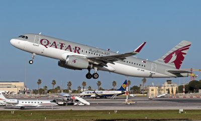 A7-AHR Airbus A320 Qatar Airways