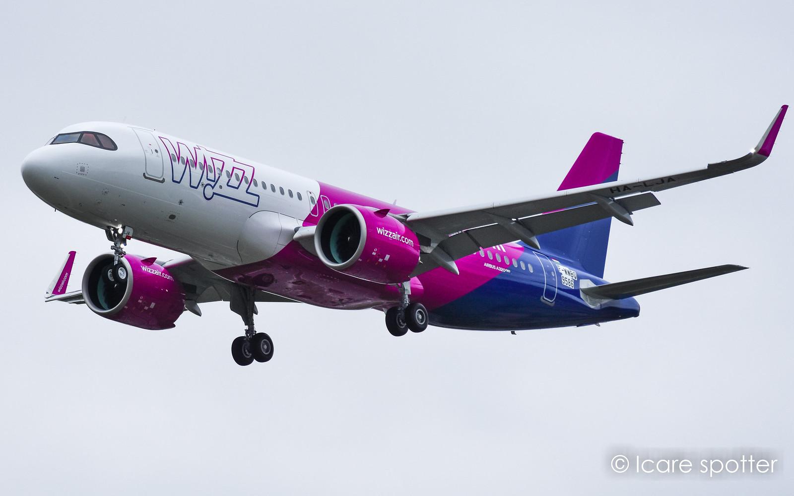 HA-LJA Airbus A320neo Wizz Air / Foto: Icare Spotter