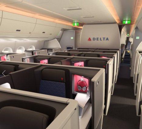 Cum arată Delta One Private Business Class al aeronavelor A350 din flota Delta