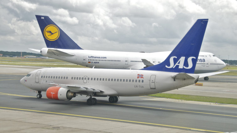 Lufthansa abandonează planurile de achiziție a SAS Scandinavian Airlines