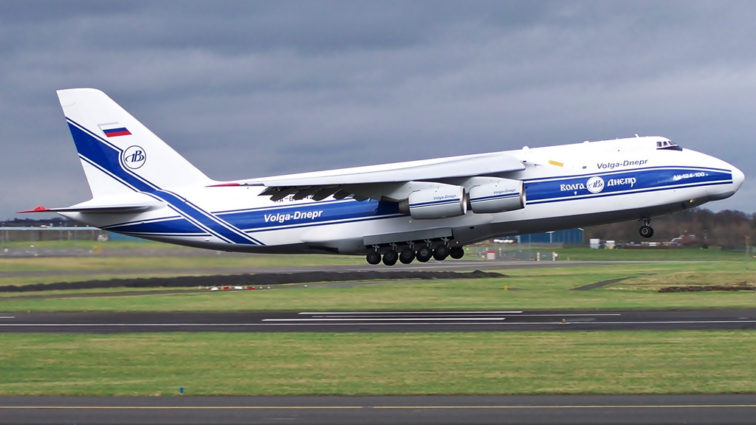 Volga-Dnepr livreaza componente pentru Boeing 767
