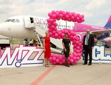 Cea de-a 5-a aeronavă Wizz Air se alătură flotei din Cluj-Napoca