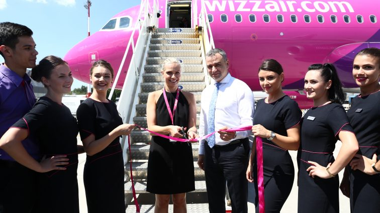 Wizz Air a deschis cea de-a șasea bază operațională din România, pe Aeroportul Iași