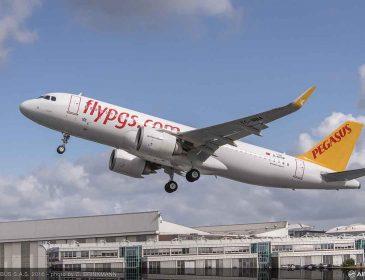 Pegasus Airlines a primit prima aeronavă Airbus A320neo propulsată de motoare CFM