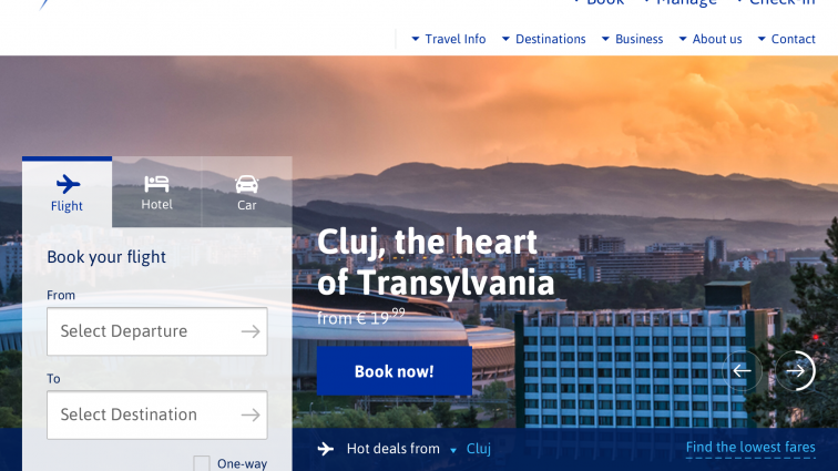 Blue Air are un site nou și noi clase tarifare