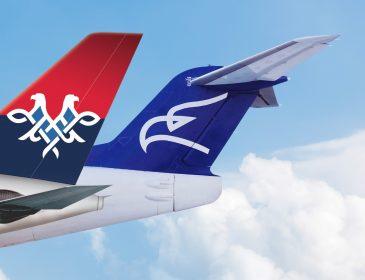 Air Serbia și Montenegro Airlines seamnează acordul de codeshare