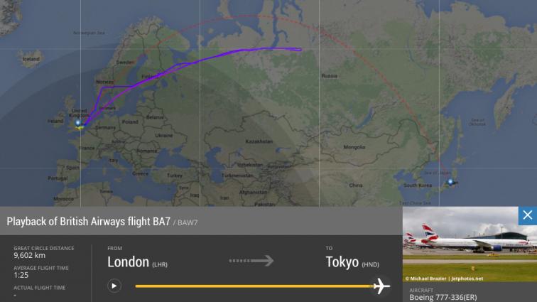 """""""O mică eroare tehnică"""" a făcut ca un zbor British Airways să zboare peste 9000 KM în zadar"""