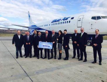 Blue Air deschide noua bază operaţională pe Aeroportul Cluj-Napoca