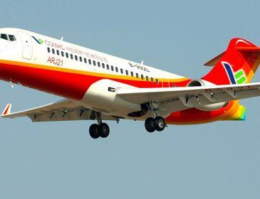 Primul avion comercial construit în China a efectuat cu succes zborul inaugural