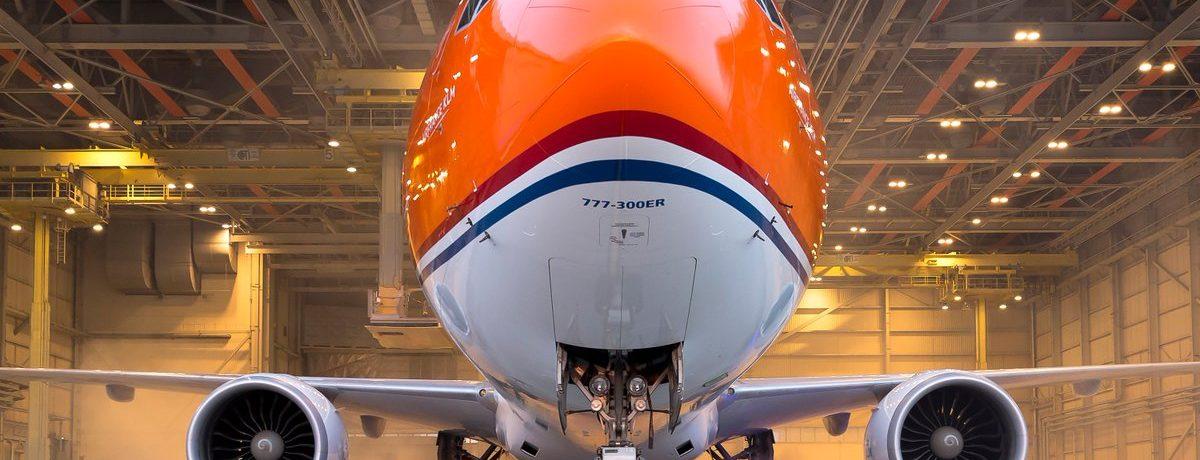KLM: Boeing-ul 777-300ER vopsit în culorile Olandei a fost prezentat publicului