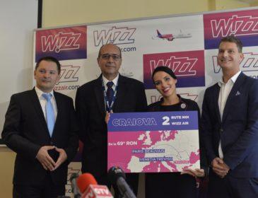 Zboară cu Wizzair de la Craiova către Paris (Beauvais) și Veneția (Treviso)