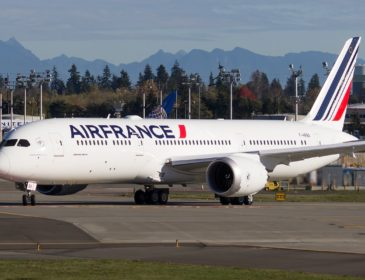Primul Boeing 787-9 Dreamliner (F-HRBA) al Air France a efectuat întâiul zbor de test (VIDEO + FOTO & AUDIO)