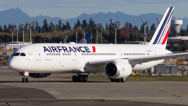 Primul Boeing 787-9 Dreamliner (F-HRBA) al Air France a efectuat întâiul zbor de test (VIDEO + FOTO & AUDIO)
