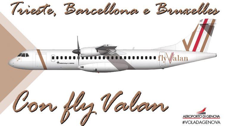 Primul avion al operatorului român FlyValan a ajuns la Maastricht pentru a fi vopsit