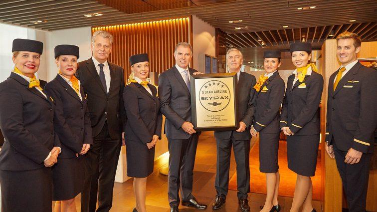Lufthansa devine prima și singura companie aeriană din Europa certificată cu 5 stele Skytrax