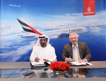 Emirates comandă încă 20 de Airbusuri A380 și alte 16 opțiuni
