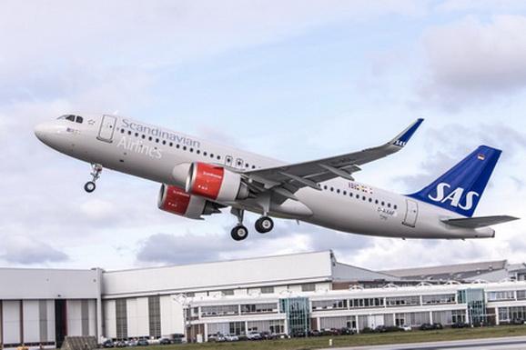 SAS (Scandinavian Airlines) a recepționat prima aeronavă A320neo din cele 30 comandate