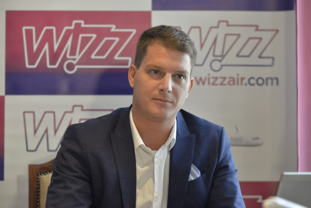 Gabor Vasarhelyi, Corporate Communications Manager la Wizz Air