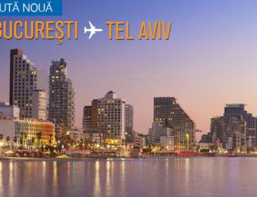 Blue Air anunta noua ruta Bucuresti – Tel Aviv