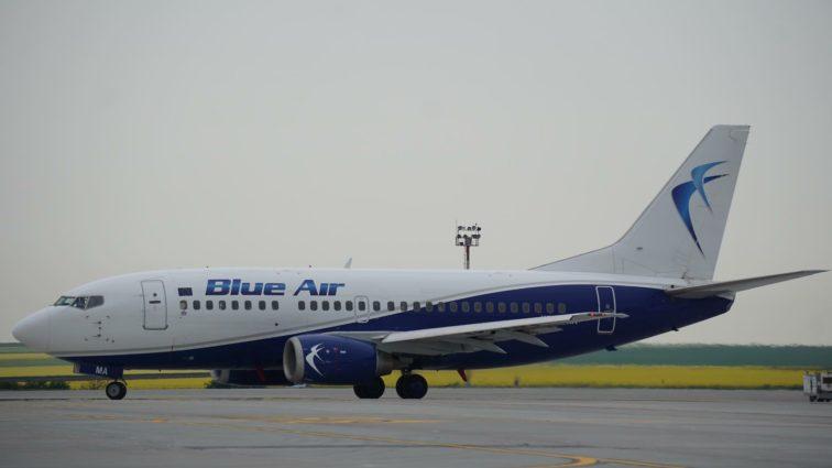 Incident: un Boeing 737 al companiei Blue Air a fost interceptat ieri de avioane de vânătoare în Ungaria