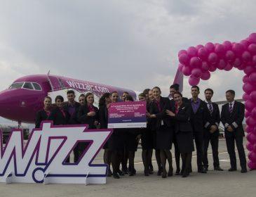 A șaptea bază Wizzair din România se află la Sibiu – prima aeronavă a fost alocată și 4 rute noi