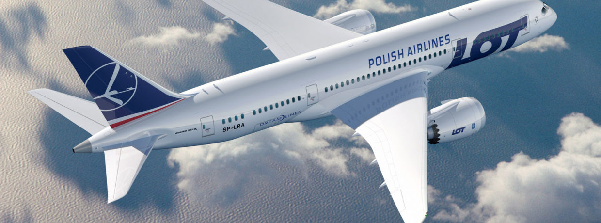 Ofertă LOT Polish Airlines: zboruri către Polonia de la 79EUR; Los Angeles, New York și Chicago de la 449EUR