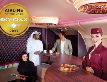Skytrax 2017: Qatar Airways a fost numită cea mai bună companie aeriană din lume pentru al patrulea an la rând