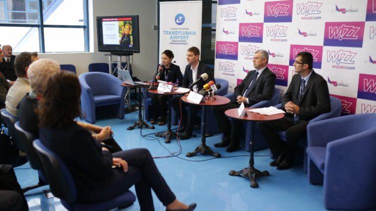 Wizzair sărbătorește 10 ani de activitate și 2 milioane de pasageri transportați la Târgu Mureș