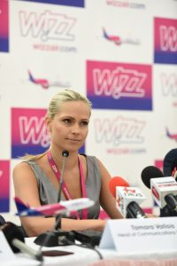 Tamara Vallois Wizz Air