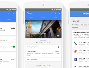 Google aduce îmbunătățiri serviciului Flights și rezervare hoteluri
