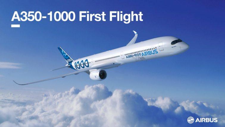 LIVE de la 11:30, primul zbor al unui Airbus A350-1000 (VIDEO)