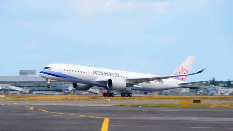 China Airlines a recepționat primul său Airbus A350