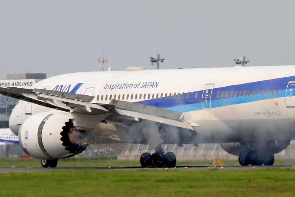 ana boeing 787 engine failure1