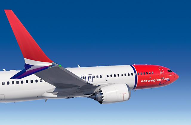 Norwegian va fi clientul de lansare al modelului Boeing 737 MAX 8; Southwest Airlines mai așteaptă