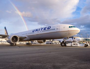 Primul Boeing 777-300ER al United Airlines a fost vopsit (FOTO)