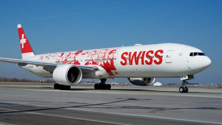 SWISS a comandat al 10-lea Boeing 777 care va face parte din flota sa