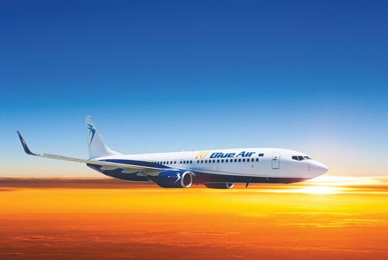 Blue Air, Oradea: Programul curselor charter operate în perioada 06.07.2016- 31.08.2016