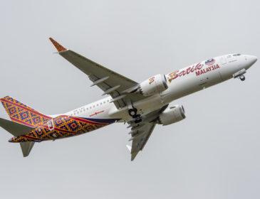 Malindo Air a operat primul zbor comercial al unui Boeing 737 Max 8