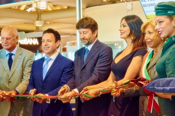 Alitalia a reluat zborurile directe din Roma către Beijing