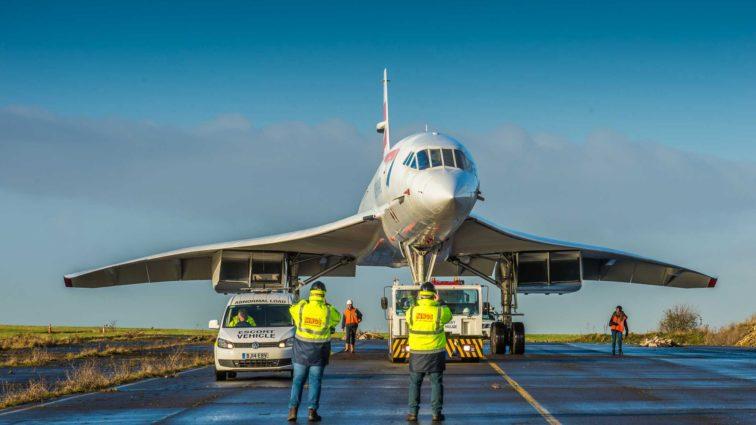 Supersonicul Concorde a ajuns la Muzeul Aerospace Bristol