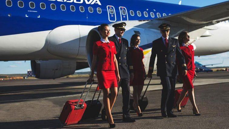 Air Moldova angajează însoțitori de zbor