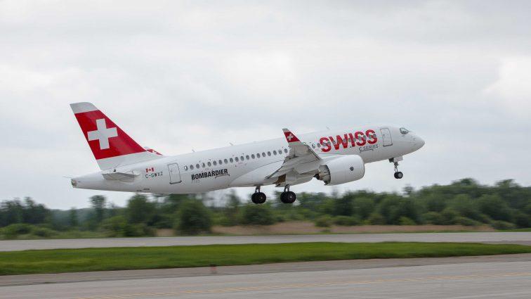 Swiss a recepționat primul Bombardier CS100