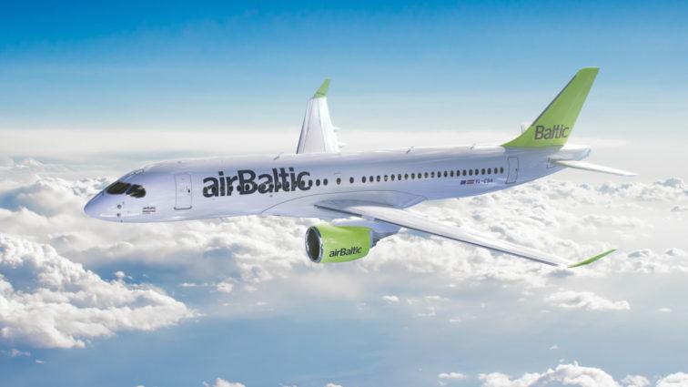 airBaltic va recepționa prima aeronavă Bombardier CS300 în luna Noiembrie a acestui an