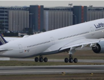 Al doilea Airbus A350-900 Lufthansa va fi livrat în 24 Februarie; primul său zbor va fi către Boston