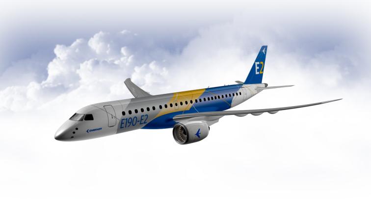 Producătorul brazilian Embraer va testa în curând și a patra aeronavă din programul E190-E2
