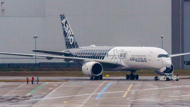 Airbus A350 XWB a plecat în primul său turneu demonstrativ din China