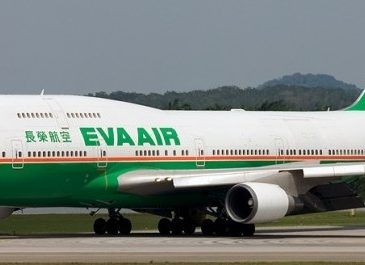 EVA Air, a opta companie aeriană evaluată de Skytrax cu cinci stele